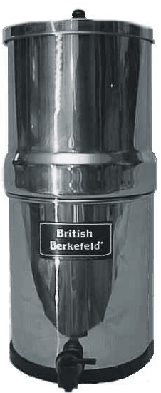 British Berkefeld - Light - Water Filters - Emergency Water.